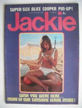 Jackie magazine - 29 June 1974 (Issue 547)