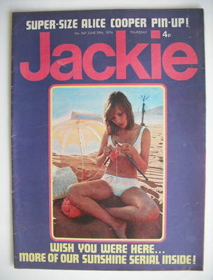 <!--1974-06-29-->Jackie magazine - 29 June 1974 (Issue 547)
