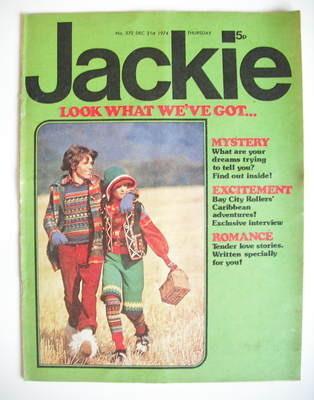 <!--1974-12-21-->Jackie magazine - 21 December 1974 (Issue 572)