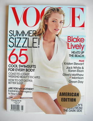 <!--2010-06-->US Vogue magazine - June 2010 - Blake Lively cover