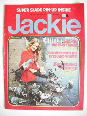 <!--1974-11-16-->Jackie magazine - 16 November 1974 (Issue 567)