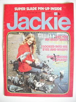 <!--1974-11-16-->Jackie magazine - 16 November 1974 (Issue 567)