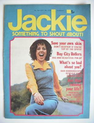<!--1974-11-09-->Jackie magazine - 9 November 1974 (Issue 566)