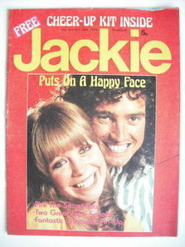 Jackie magazine - 26 October 1974 (Issue 564)