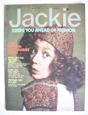 <!--1974-10-19-->Jackie magazine - 19 October 1974 (Issue 563)
