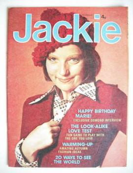 Jackie magazine - 12 October 1974 (Issue 562)