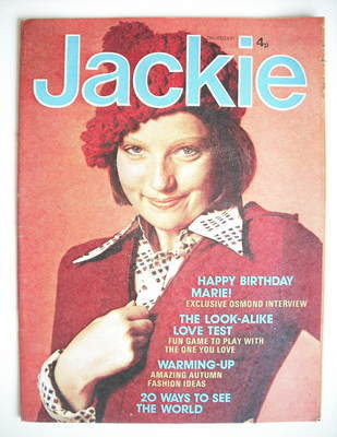 <!--1974-10-12-->Jackie magazine - 12 October 1974 (Issue 562)