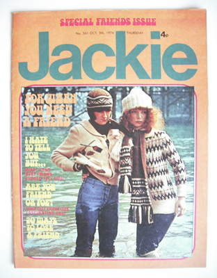 <!--1974-10-05-->Jackie magazine - 5 October 1974 (Issue 561)