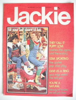 Jackie magazine - 31 August 1974 (Issue 556)