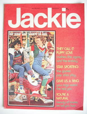 <!--1974-08-31-->Jackie magazine - 31 August 1974 (Issue 556)