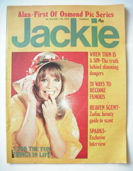 Jackie magazine - 17 August 1974 (Issue 554)