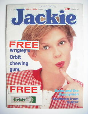 <!--1987-10-17-->Jackie magazine - 17 October 1987 (Issue 1241)