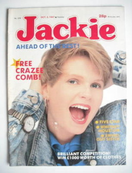 Jackie magazine - 3 October 1987 (Issue 1239)