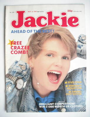 <!--1987-10-03-->Jackie magazine - 3 October 1987 (Issue 1239)