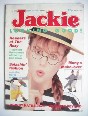 <!--1987-09-26-->Jackie magazine - 26 September 1987 (Issue 1238)