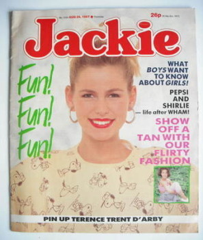 Jackie magazine - 29 August 1987 (Issue 1234)