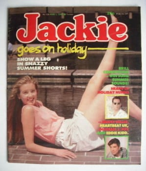 Jackie magazine - 1 August 1987 (Issue 1230)