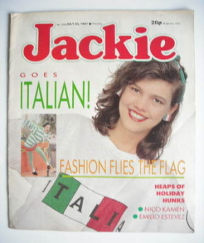 Jackie magazine - 25 July 1987 (Issue 1229)