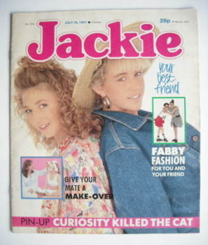 Jackie magazine - 18 July 1987 (Issue 1228)