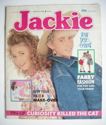 <!--1987-07-18-->Jackie magazine - 18 July 1987 (Issue 1228)
