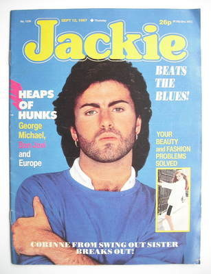 <!--1987-09-12-->Jackie magazine - 12 September 1987 (Issue 1236 - George M
