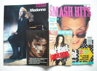 <!--1992-08-05-->Smash Hits magazine - Christian Slater cover (5-16 August