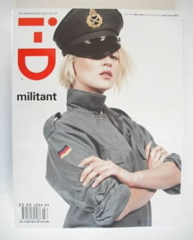i-D magazine - Kate Moss cover (March 2001)