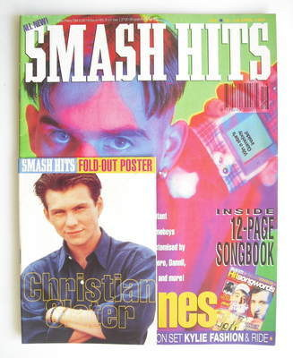 <!--1992-04-15-->Smash Hits magazine - Mean machines cover (15-28 April 199