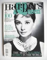 <!--1996-06-->British Harpers & Queen magazine - June 1996 - Audrey Hepburn cover