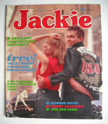 <!--1987-05-30-->Jackie magazine - 30 May 1987 (Issue 1221)