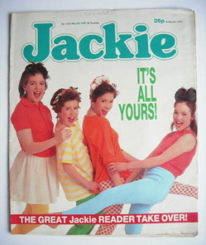 Jackie magazine - 23 May 1987 (Issue 1220)