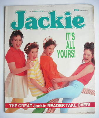 <!--1987-05-23-->Jackie magazine - 23 May 1987 (Issue 1220)