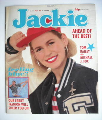 <!--1987-05-09-->Jackie magazine - 9 May 1987 (Issue 1218)