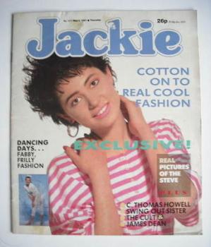 Jackie magazine - 2 May 1987 (Issue 1217)