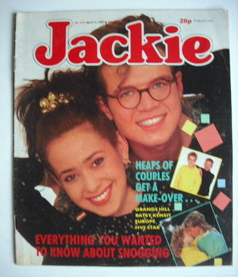 <!--1987-04-11-->Jackie magazine - 11 April 1987 (Issue 1214)