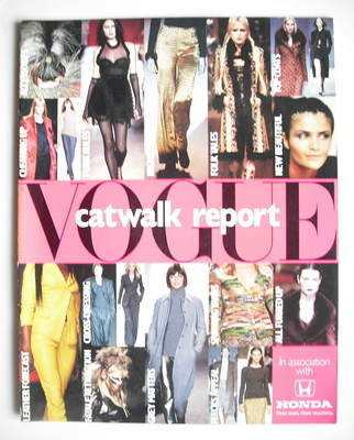 British Vogue supplement - Catwalk Report