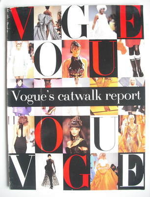 British Vogue supplement - Catwalk Report (1994)