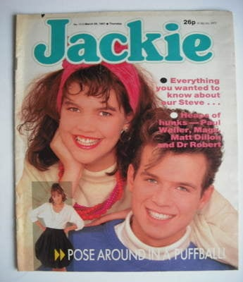<!--1987-03-28-->Jackie magazine - 28 March 1987 (Issue 1212)