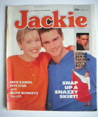 <!--1987-03-21-->Jackie magazine - 21 March 1987 (Issue 1211)