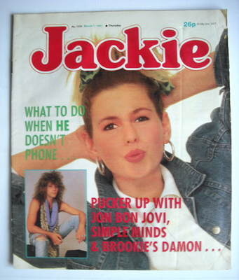 <!--1987-03-07-->Jackie magazine - 7 March 1987 (Issue 1209)