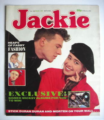 <!--1987-02-28-->Jackie magazine - 28 February 1987 (Issue 1208)