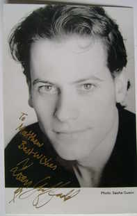 Ioan Gruffudd autograph