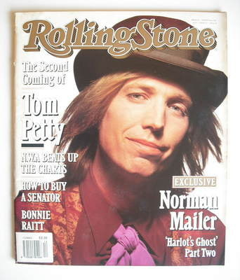 Rolling Stone Magazine Tom Petty Cover 8 August 1991
