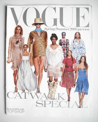 British Vogue supplement - Catwalk Special Spring/Summer 2005 Preview