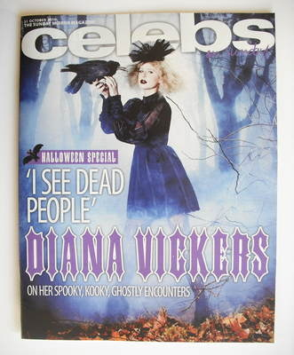 <!--2010-10-31-->Celebs magazine - Diana Vickers cover (31 October 2010)