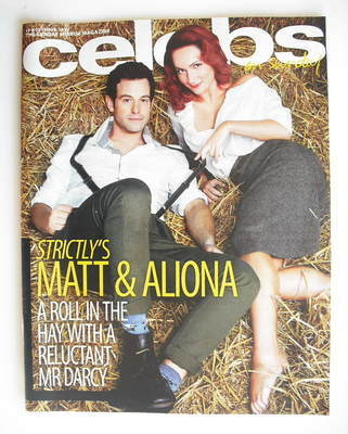 <!--2010-11-14-->Celebs magazine - Matt Baker and Aliona Vilani cover (14 N