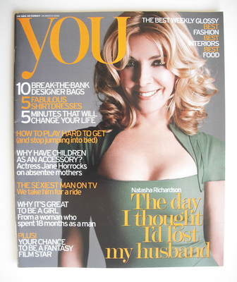 <!--2006-03-26-->You magazine - Natasha Richardson cover (26 March 2006)