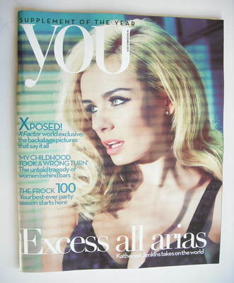 <!--2010-11-14-->You magazine - Katherine Jenkins cover (14 November 2010)