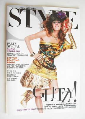 <!--2010-11-14-->Style magazine - Anna Dello Russo cover (14 November 2010)