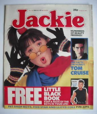<!--1987-02-21-->Jackie magazine - 21 February 1987 (Issue 1207)